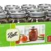 Thumbnail image for Amazon- Ball Regular-Mouth Mason Jars with Lids and Bands $11.49