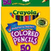 Thumbnail image for Amazon-Crayola 50ct Long Colored Pencils Only $7.67