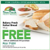 Thumbnail image for Farm Fresh: FREE Bakery Fresh Italian Bread w/$10 purchase