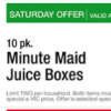 Thumbnail image for Harris Teeter: Minute Maid Juice Boxes $.97 (Saturday Event)