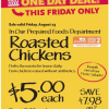 Thumbnail image for Whole Foods: $5 Whole Roasted Chicken (8/23 Only)