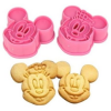 Thumbnail image for Amazon- Cute Mickey/ Minnie Mouse Decorating Cookie Cutter Set-Pink $1.59