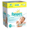 Thumbnail image for Amazon: 448 Pampers Sensitive Wipes $.02 Each Shipped