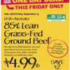 Thumbnail image for Whole Foods Mid-Atlantic: 9/13 85% Lean Grass-Fed Ground Beef $4.99 lb