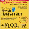 Thumbnail image for Whole Foods 9/28: Fresh Halibut Fillet $14.99 lb