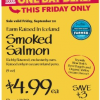 Thumbnail image for Mid-Atlantic Whole Foods: 9/20 Icelandic Smoked Salmon $4.99 Each