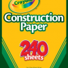 Thumbnail image for It's Back! Amazon-Crayola 240 Sheet Construction Paper Just $2.50