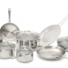 Thumbnail image for Amazon-Emeril by All-Clad 12-Piece Cookware Set, Silver $129.99