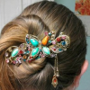 Thumbnail image for Lovely Vintage Jewelry Crystal Butterfly Hairpin $2.93 Shipped