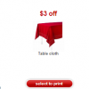 Thumbnail image for Target: Possible Free Tablecloth With Printable Coupon