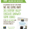 Thumbnail image for Whole Foods: Free Chocolate Sandwich Creme Cookies 10/22
