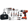 Thumbnail image for Black & Decker Lithium Drill and Project Kit, 20-volt-$79 Shipped