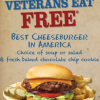 Thumbnail image for Max & Erma's FREE Combo Meal for Military (11/11 Only!)