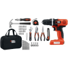 Thumbnail image for Black & Decker LDX172PK Lithium Drill and Project Kit-$47.52 Shipped