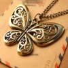Thumbnail image for Amazon-Vintage Butterfly Necklace Only $1.50 Shipped