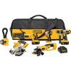 Thumbnail image for DEWALT DCK655X 18-Volt XRP 6 Tool Combo Kit with Impact Driver