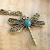 Thumbnail image for Amazon-Vintage Bronze Dragonfly Necklace