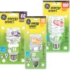 Thumbnail image for High Value Target Cartwheel Coupon: 50% Off GE LED Energy Smart Light Bulbs