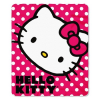 "Thumbnail image for Hello Kitty Polka Dot Fleece Throw Blanket 50"" x 60""-$9.75"