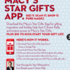 Thumbnail image for Free $10 Macy's Gift Card