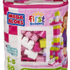 Thumbnail image for Amazon-Megabloks 80 pc Large Classic Bag, Pink $11.99