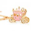 Thumbnail image for Amazon-Pink Princess Carriage Necklace Just $2.50 Shipped