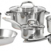 Thumbnail image for Amazon Daily Deal: T-fal Stainless Steel Copper-Bottom 12-Piece Silver Cookware Set $78.99
