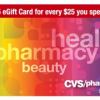 Thumbnail image for CVS: FREE $5 Gift Card with $25 Gift Card Purchase!