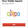 Thumbnail image for Target Cartwheel: 40% Off Circo Toddler Clothing (Today Only)