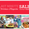 Thumbnail image for HUGE Last Minute Christmas Magazine Sale