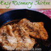 Thumbnail image for Easy Rosemary Chicken