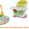 Thumbnail image for Amazon: Spend $80 on Select Fisher Price Baby Items and Get $30 Off At Checkout