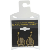 Thumbnail image for The Hunger Games: Catching Fire Mockingjay Earrings-$7.74