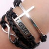 Thumbnail image for **HOT**:Vintage Silver Cross Bracelet-$1.75 Shipped