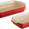 Thumbnail image for Amazon-Le Creuset 1-1/4-Quart Rectangular Bakers with Bonus Baker $39.95