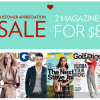 Thumbnail image for Magazine Customer Appreciation Sale-Score 2 Magazines for Only $8.00