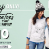 Thumbnail image for Old Navy: $10 Fleece Tops for Whole Family (In-Store Today Only!) + Up to 50% Off Sleepwear + More
