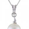 Thumbnail image for Sterling Silver Freshwater Cultured Pearl Pendant Necklace-$10