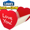 Thumbnail image for Lowes: Love Note Holder Kid's Clinic