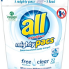 Thumbnail image for All Mighty Pacs Free & Clear Laundry Detergent for $0.14 Per Pac Shipped
