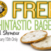 Thumbnail image for Einstein Bros Bagels: FREE Thintastic Bagel & Shmear 1/15