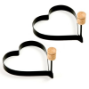 Thumbnail image for Amazon-Norpro Nonstick Heart Pancake Egg Rings, Set of 2 $7.16