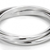 Thumbnail image for Amazon-Sterling Silver Triple Interlocked Ring Under $10