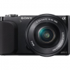 Thumbnail image for Sony NEX Compact Interchangeable Lens Digital Camera Kit $289.99