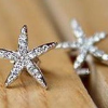 Thumbnail image for Amazon-Starfish Earrings, Faux Diamond Embellished Earrings Only $1.07