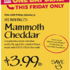 Thumbnail image for Whole Foods Mid-Atlantic Deal 1/31: Henning's Mammoth Cheddar Cheese $3.99 lb
