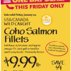 Thumbnail image for Whole Foods Mid-Atlantic: Coho Salmon Fillets $9.99 lb
