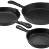 Thumbnail image for Amazon-Pre-Seasoned Cast Iron 3 Piece Skillet Set $22.99