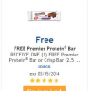 Thumbnail image for Kroger Freebie: Premier Protein Bar