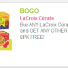 Thumbnail image for *HOT* Buy 1 LaCroix Curate 8-Pack, Get ANY Other LaCroix 8-Pack FREE Coupon